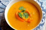 Lisa Faulkner's warming pumpkin soup