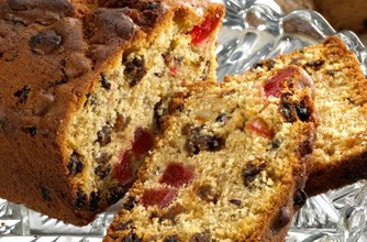 Quick and east fruit cake