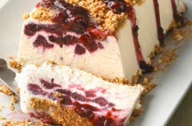 Iced trifle slice