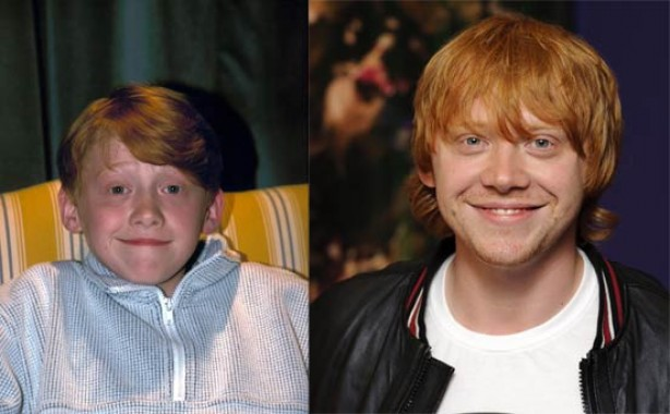 Celebs: Now and then - Daniel Radcliffe - goodtoknow Rupert Grint Today