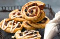 A quick and easy way with mincemeat. These palmiers are are crispy when baked. You can prepare them in advance and freeze them.