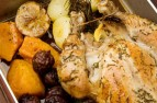 Orange roast chicken