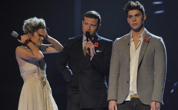 Aiden and Katie - X Factor