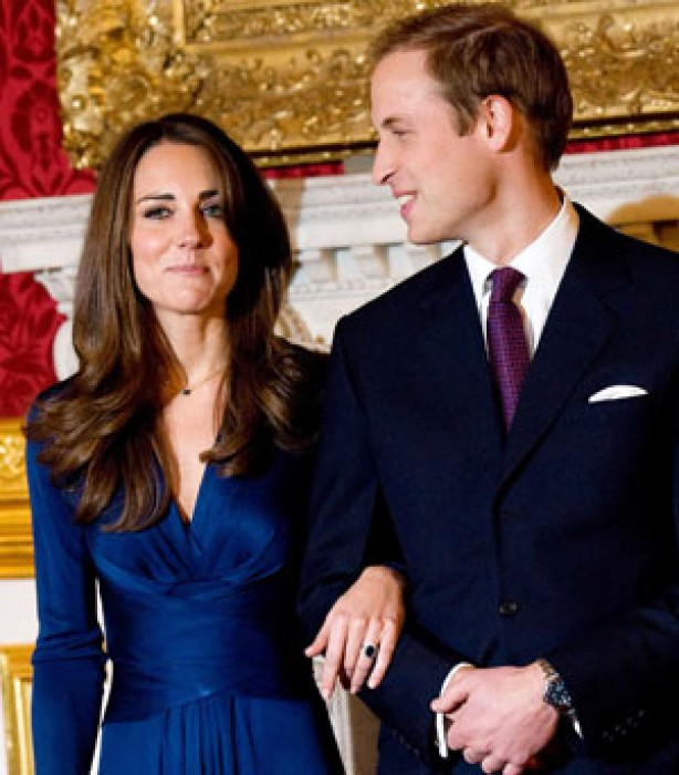 Kate and Wills' engagement pics