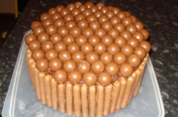 Sally Hudson's chocolate Heaven Cake
