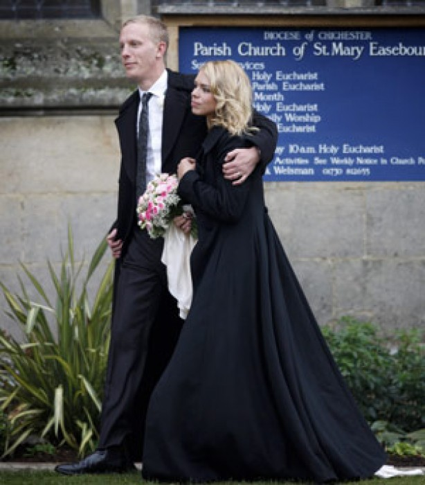Celebrity weddings: Billie Piper and Laurence Fox