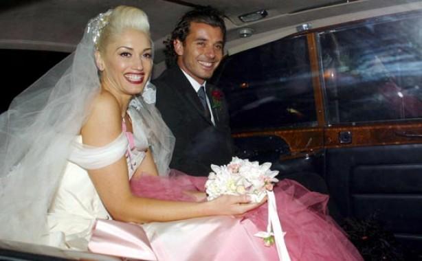 Celebrity weddings: Gwen Stefani and Gavin Rossdale