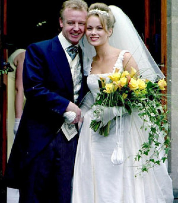 Celebrity Weddings Celebrity Weddings Amanda Holden And