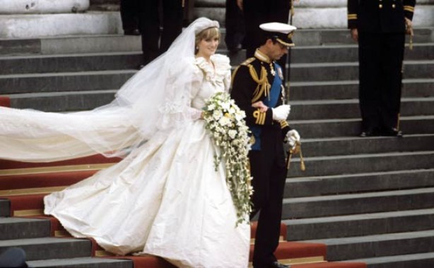 Celebrity weddings: Lady Diana and Prince Charles