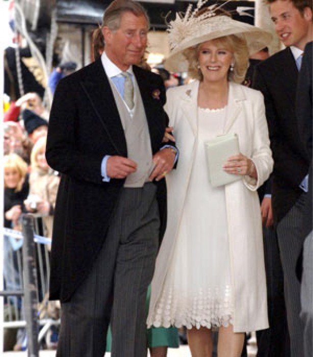Celebrity weddings: Prince Charles and Camilla Parker Bowles