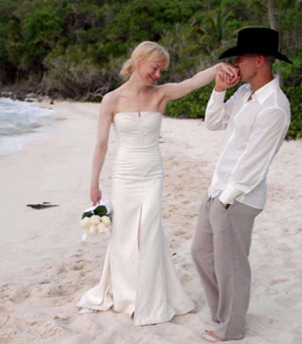 Celebrity weddings: Renee Zellweger and Kenny Chesney