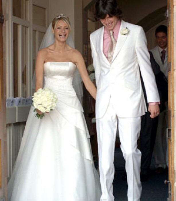 Celebrity weddings: Tess Daly and Vernon Kay