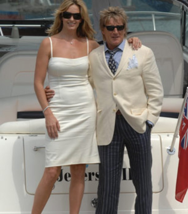 Celebrity weddings: Rod Stewart and Penny Lancaster