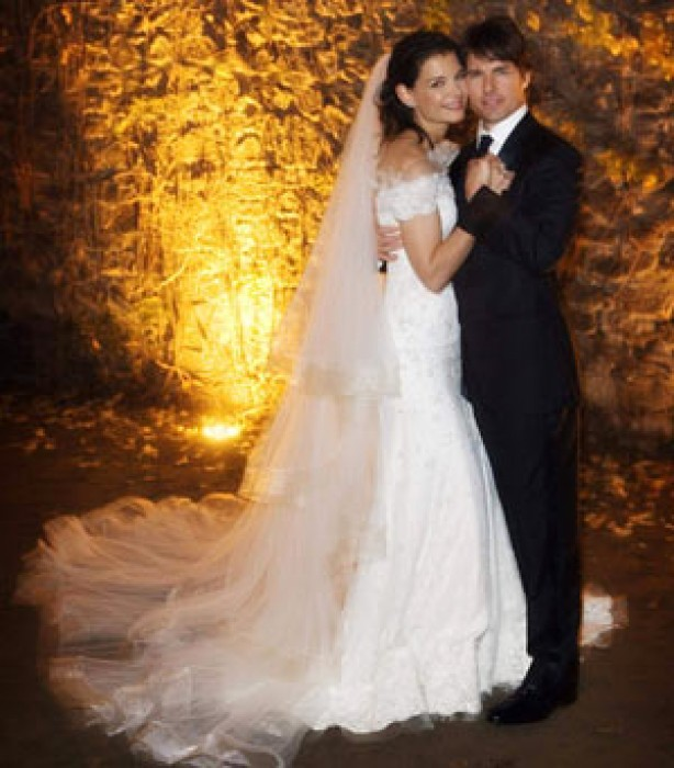 Celebrity weddings: Tom Cruise and Katie Holmes