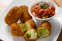 Brussels sprout and potato croquettes