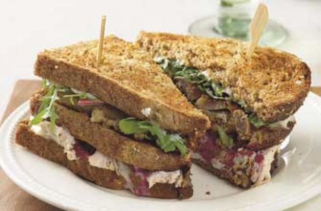 Christmas club sandwich