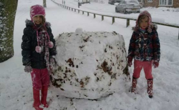 Your snow pics