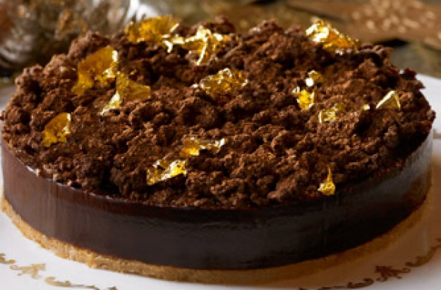 Heston Blumenthal's Spiced popping candy chocolate tart