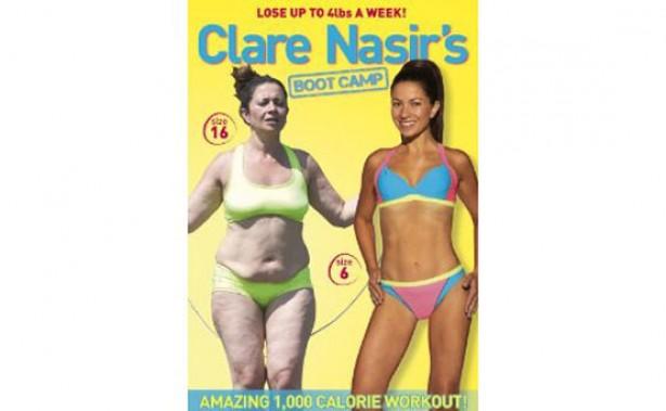 Clare Nasir - fitness DVD