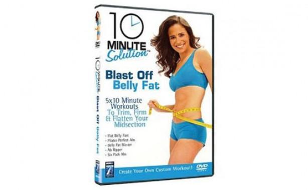 Blast off Belly Fat - fitness DVD
