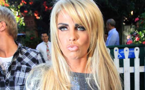 Katie Price in 2010