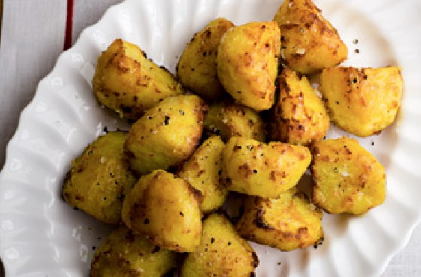 Gordon Ramsay's roast potatoes with chilli and turmeric