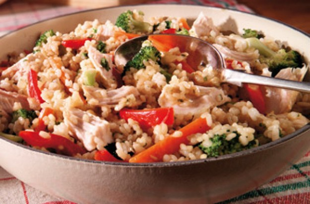 Turkey risotto