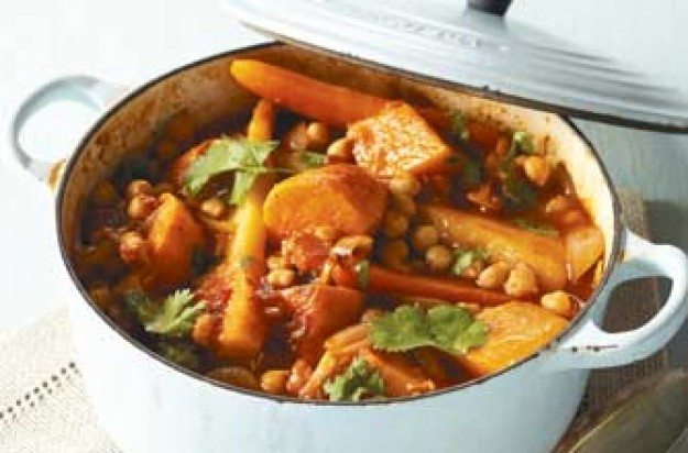 Woman's Weekly winter root vegetable tagine