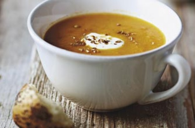 lentil and carrot soup