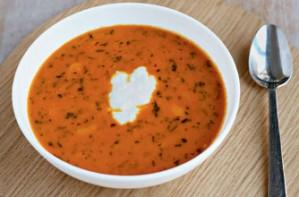 Moroccan spiced pumpkin and butter bean pot