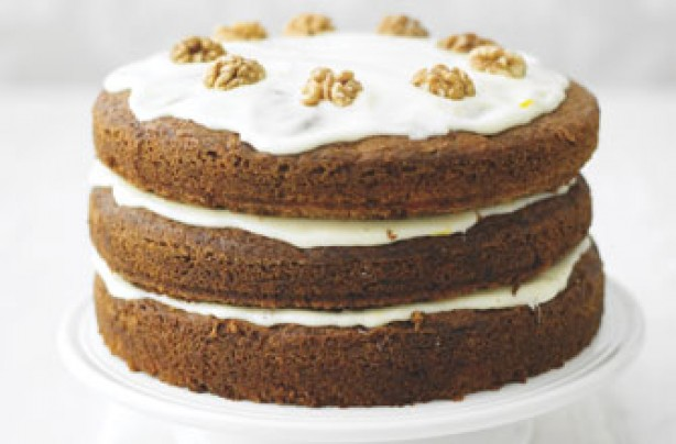 Lorraine Pascale's big fat carrot cake recipe