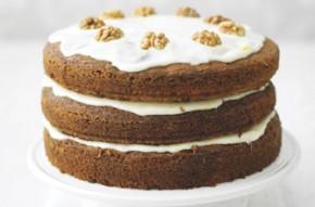 Lorraine Pascale's big fat carrot cake