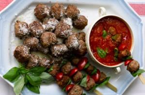 Gennaro Contaldo's meatballs