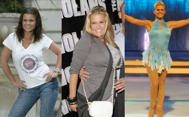 Kerry Katona's weight loss and gain in pics