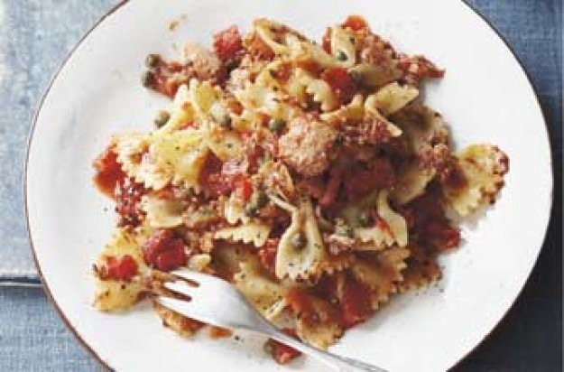 Woman's Weekly Tuna and tomato salsa pasta