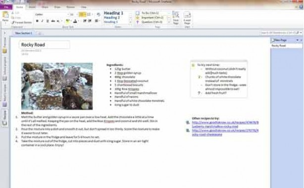 Microsoft Office: How to improve your recipes
