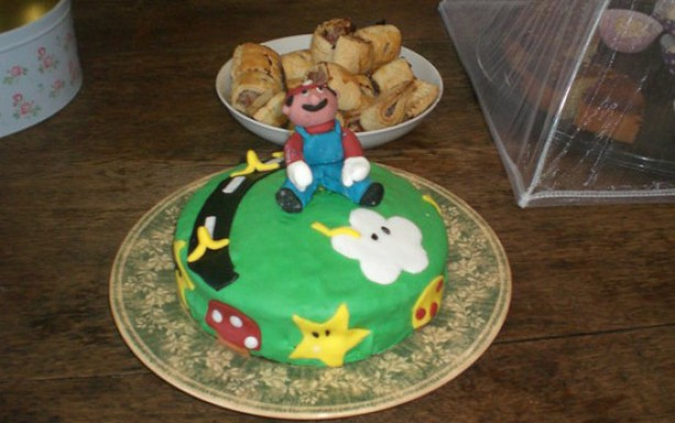 Claire Begg's Mario cake