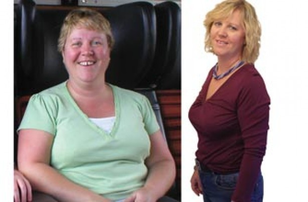 Before and after: Michelle Davies