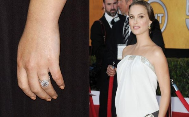 Celebrity engagement rings: Natalie Portman