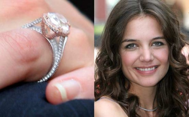 Celebrity engagement rings: Katie Holmes