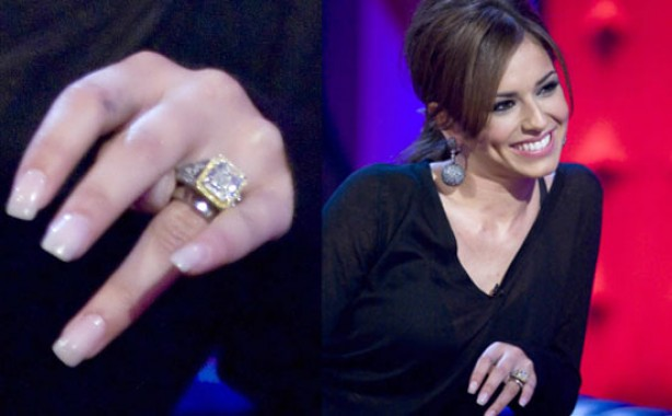 Celebrity engagement rings: Cheryl Cole