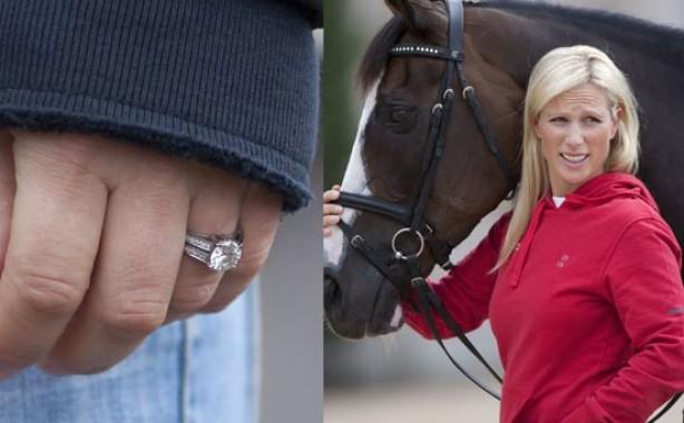 Celebrity engagement rings: Zara Phillips