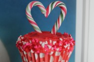 Dark Chocolate Cupcakes with Peppermint Buttercream
