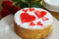 Valentine's Day olive oil cake 