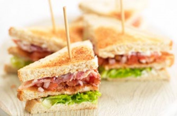 Children's club sandwich recipe