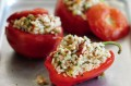 Slimming World's spicy rice stuffed peppers