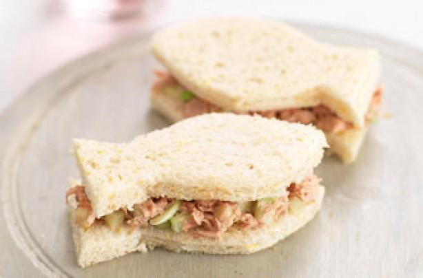 Tuna tastic sandwich