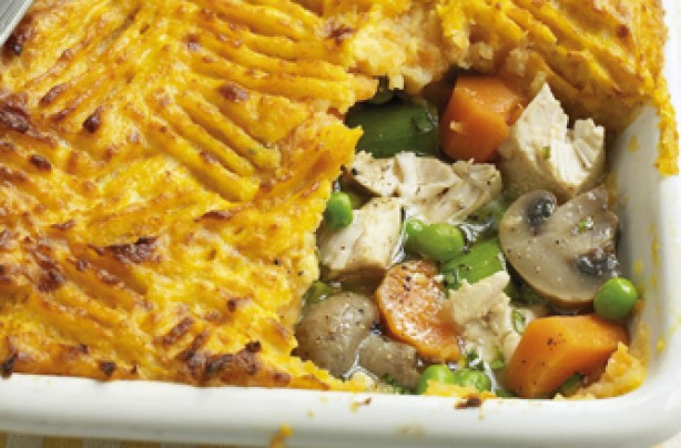 Slimming World's chicken and leek pie