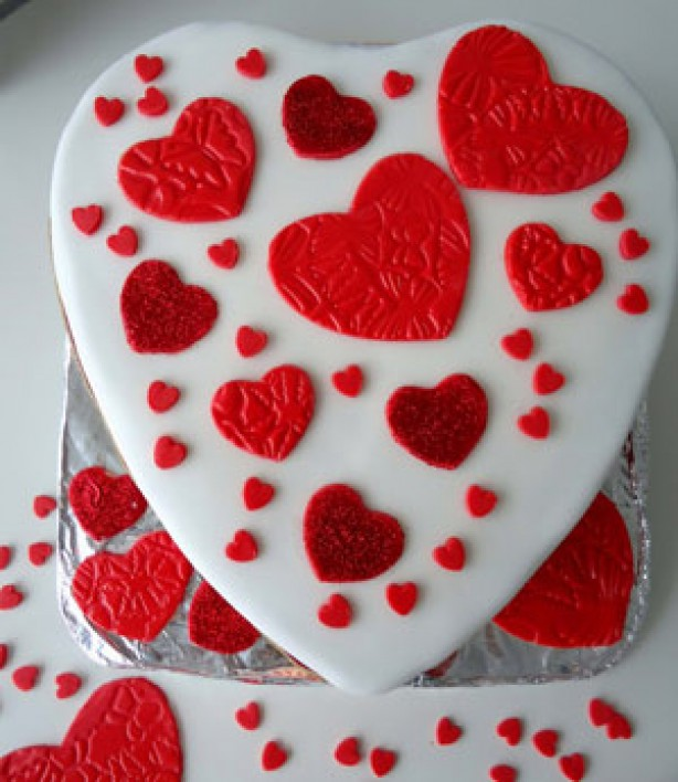Valentine Birthday Cake 2013 - The Best Party Cake