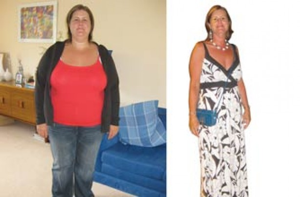 Before and after: Andrea North
